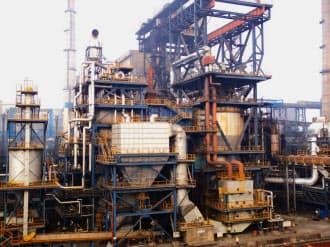 新エネルギー・産業技術総合開発機構(NEDO)のモデル事業で印タタ製鉄に納入された新日鉄住金エンジニアリング製のコークス乾式消火設備