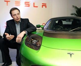 カリフォルニア州には米テスラ・モーターズなど環境関連企業も多い(イーロン・マスク最高経営責任者)