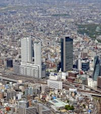 名古屋駅周辺の景観