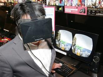 「オキュラス・リフト」視界360度のバーチャルリアリティーを楽しめる
