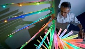 三菱化学が中村修二氏と共同開発した高効率のLED素子