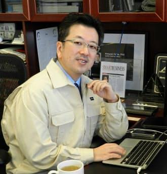 「稲盛和夫さんの経営哲学を自分で咀嚼しながら米国で取り入れています」