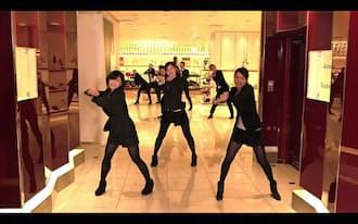 新宿本店をはじめ世界各国の伊勢丹スタッフがプロモーションビデオ作りに参加(YouTubeより)