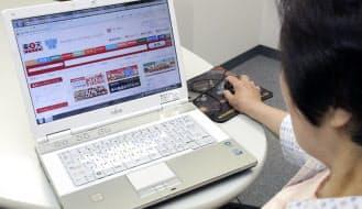 パスワードで簡単な文字列の利用や使い回しは厳禁とされている(パソコンでインターネット通販を利用する人は増えている)