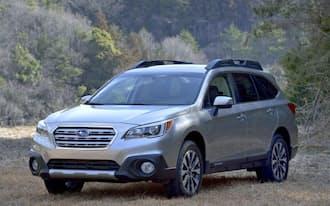 写真は現行の主力SUV「アウトバック」の新型モデル