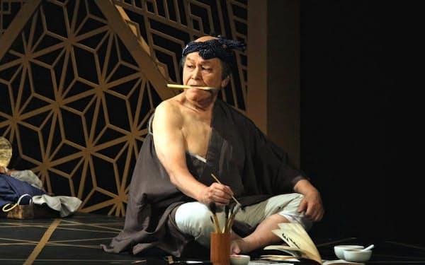 「夏の盛りの蝉のように」で北斎を演じる加藤武