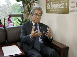 「JOCの選手強化は実績が上がっている」と竹田会長は話す
