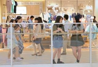 多くの店がそろい、1カ所で比較ができるショッピングセンターが人気(埼玉県越谷市のイオンレイクタウンkaze)