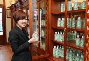 世界最古の薬局「サンタ・マリア・ノヴェッラ」は約1年ぶりに銀座6丁目に出店(東京都中央区)=地図の2
