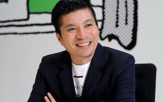藤田晋(ふじた・すすむ)1973年福井県生まれ。大学卒業後、1年のサラリーマン経験を経て98年にサイバーエージェント設立、2000年に当時史上最年少の26歳で東証マザーズ上場。07年から「アメーバ」をはじめとするメディア事業立ち上げを統括し、現在も「アメーバ総合プロデューサー」として陣頭指揮する。同世代の起業家仲間とは対照的に、派手なM&Aとは一線を画して自力で成長を求める経営スタイル。趣味は釣り、マージャン。