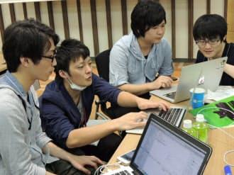 全国から集まった大学生が、美波町活性化のアプリ開発に挑んだ(東京都港区)