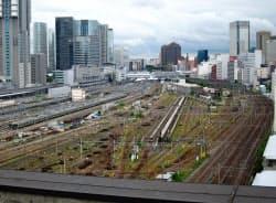 JR東日本が山手線新駅と合わせ高層ビルの建設を計画する開発用地