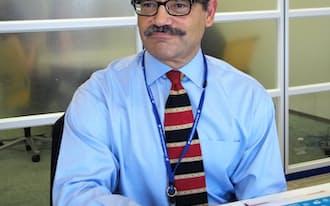カタリナマーケティングのジェイミー・イーガスティ最高経営責任者(CEO)。ハーバード大卒。プロクター・アンド・ギャンブル(P&G)で30年間消費者向けマーケティングに携わる。2011年10月に同社入社と同時にCEO就任