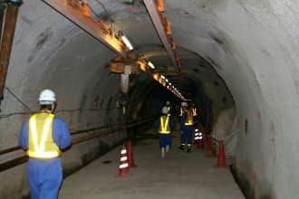地下350メートルの幌延深地層研究センター
