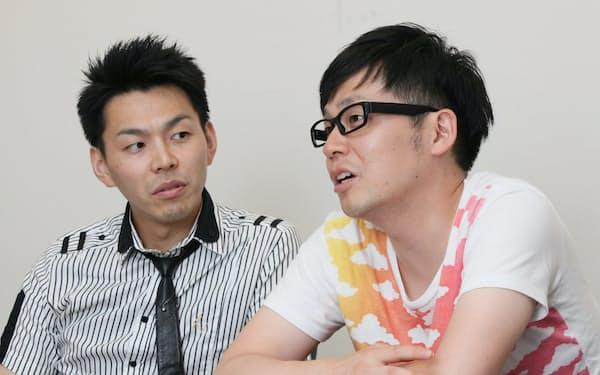母心(ははごころ)                                                         吉本興業「★☆☆(ほしの)弁当座」所属の嶋川 武秀 (しまかわ・たけひで、写真左)と関淳 (せき・あつし)が08年に福島県で結成。同年、仲間とともに吉本興業から独立し団体名を『お笑いエンタ集団 みちのくボンガーズ』と改名。福島を中心とした東北地方でのお笑い活動を開始。12年、花形演芸大賞 銀賞受賞、14年漫才新人大賞受賞。