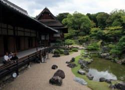 秀吉の豪勢な趣味が反映された醍醐寺の三宝院庭園(京都市伏見区)