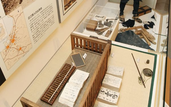 商人の歴史や生活などを学べる近江商人博物館(滋賀県東近江市)