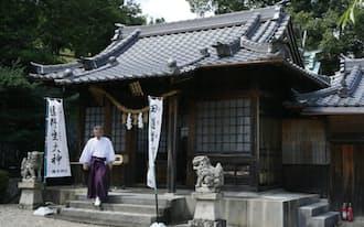 「お菓子の神様」を祭る橘本神社(和歌山県海南市)