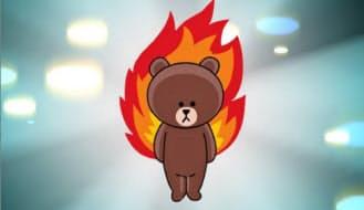 8月には無料対話アプリのLINE(東京・渋谷)と共同企画を展開。同社の人気キャラクターがモンストに登場した。