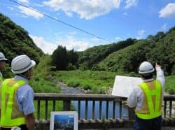 建設継続が決まった川上ダムの予定地(三重県伊賀市)