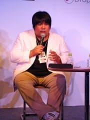 アソビシステムの中川悠介社長は「アジアの人は日本の後ろに欧米を見ている」と指摘する