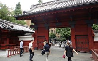 東大は外国人留学生の割合を12%以上にする(東京都文京区)