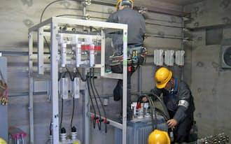 中央電力はマンションで一括受電の顧客を増やしている