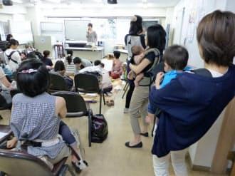小石川医師会の子育て支援セミナーでは毎回、スマホ子守が話題に(東京・文京)