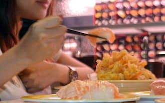 元気寿司シンガポール店のシャリは日本米