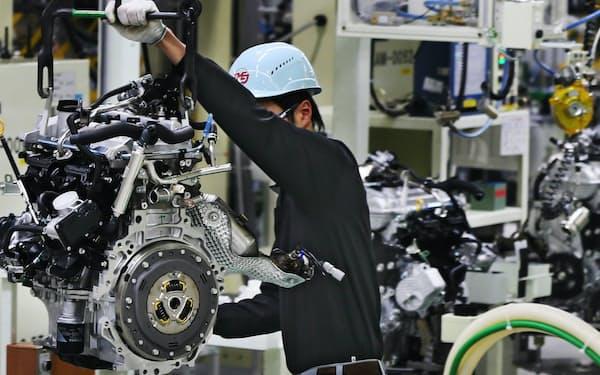 半導体などの電子部品や自動車などの輸出増が景況感を押し上げた