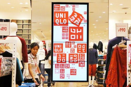フィリピン・マニラのユニクロの店舗