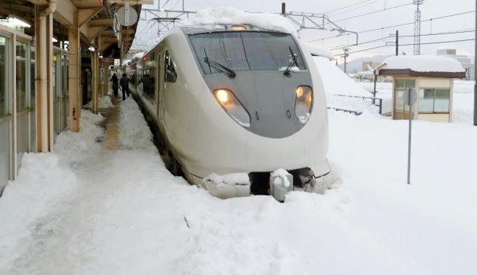 北極海の高気圧、日本に豪雪呼ぶ: 日本経済新聞