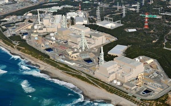 中部電力の浜岡原子力発電所(2月、静岡県御前崎市)