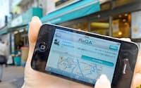 スマホで地図を見ながら店を探す人が増えた(NTTレゾナントのサービス)