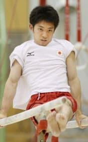 田中和にとって平行棒は「相棒」だ