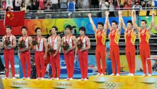 日本は金メダルから遠のいている(08年の北京五輪)