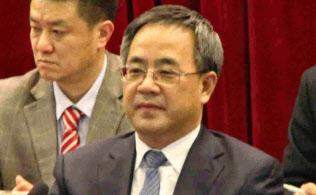 最高指導部人事の焦点である共青団ホープの胡春華・広東省党委員会書記(2013年3月、北京市)