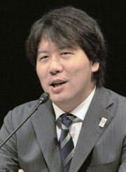 グリー社長 田中良和氏  楽天を経て、2004年に同社を設立。携帯電話向けのソーシャルゲームサイトを運営。