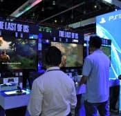 家庭用ゲーム機は北米市場が不振で、中国に期待がかかる(米ロサンゼルス)
