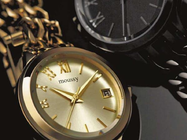 7f83a47f5e 2連チェーンで華やかな女性向け腕時計 · オリエント時計