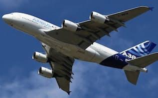 超大型機エアバス「A380」