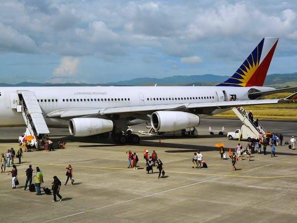 フィリピン航空の旅客機