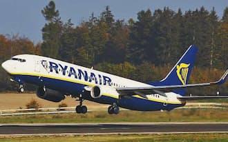 欧州大手のライアンエアーなどの空席状況も調べられる