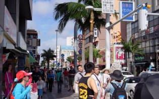 那覇市の国際通り