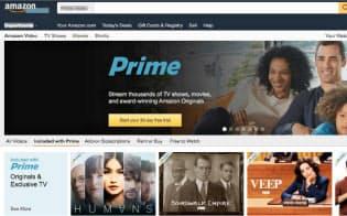 アマゾンも独自番組や投稿動画で動画配信に本腰を入れてきた