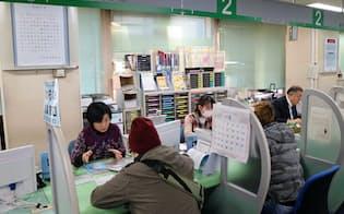 有効求人倍率は全都道府県で1倍を超えたが……(名古屋市のハローワーク)