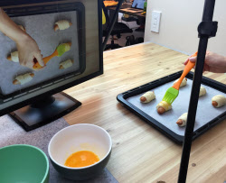 家庭で簡単につくれる料理の動画を毎日配信する