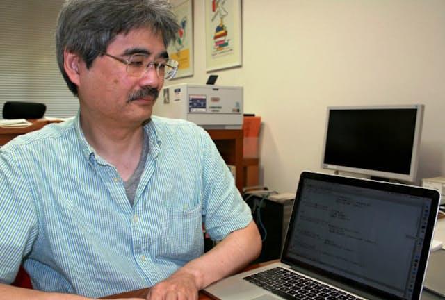 「文章の中でも小説はとても難しい」と話す佐藤理史氏