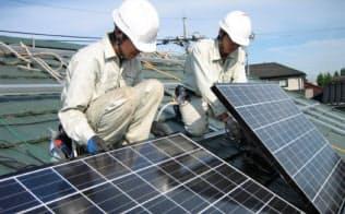 初期費用ゼロで自宅に太陽光パネルを導入できるプランも
