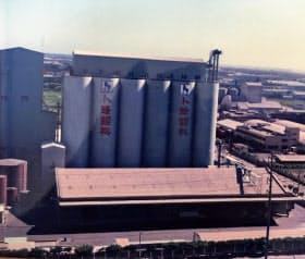 CPグループが1970年代に台湾に設けた飼料工場